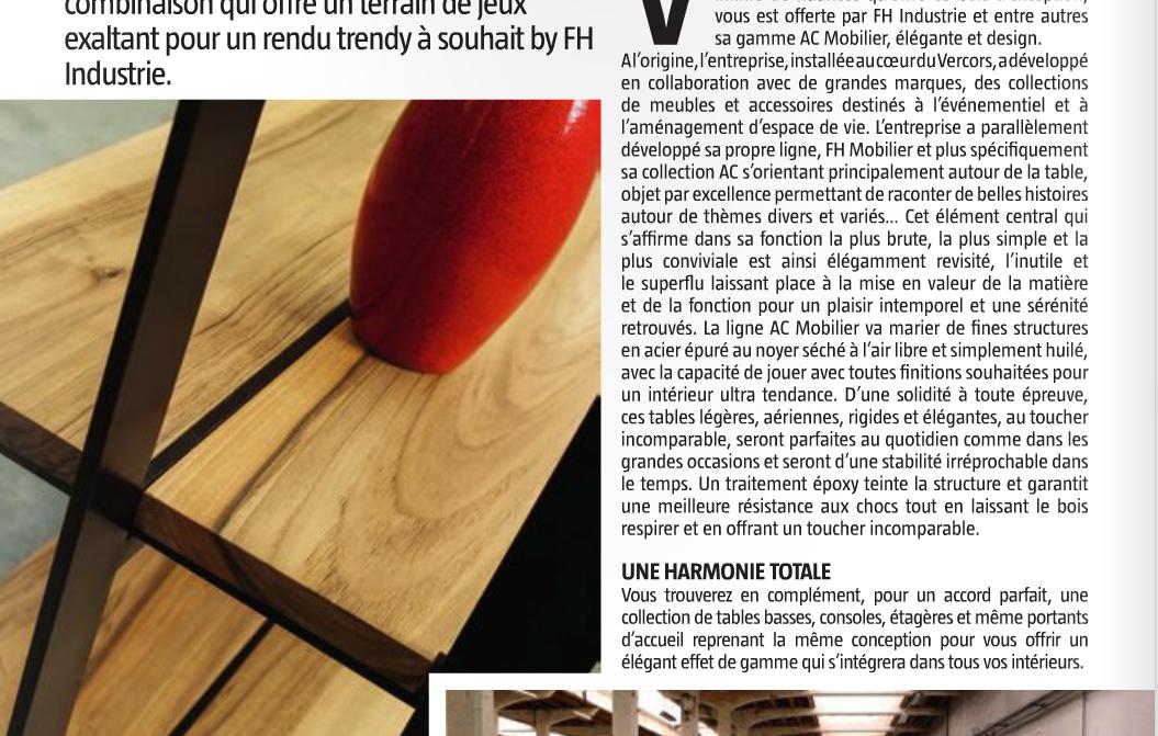 fh mobilier meubles design d inspiration industrielle